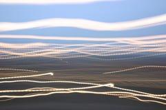 Runings Leuchten lizenzfreie stockbilder