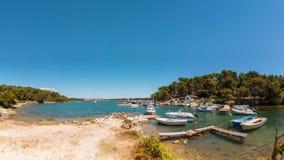 Runke, Istria,克罗地亚 免版税图库摄影