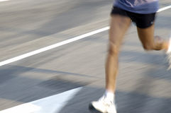 Runner 1. Man running Royalty Free Stock Photography