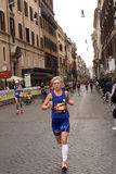 Runner. From the maraton of rome 2010 Stock Photography