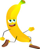 Runner banana Royalty Free Stock Image