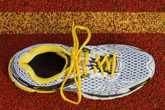 Runner birds eye view Stock Photo