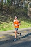 Runner on the 2021 Blue Ridge Marathon