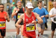 Control Time in Marathon Stock Image