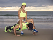 Runner couple Royalty Free Stock Image