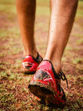 Runner feet Royalty Free Stock Photography