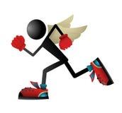 Runner fly Stock Images