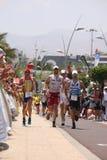 Runner in ironman Royalty Free Stock Photos