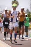 Runner in ironman Royalty Free Stock Image