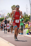 Runner in ironman Royalty Free Stock Photography