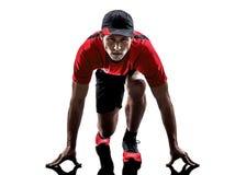 Runner jogger silhouette Stock Image