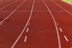 Runner lane Stock Photos