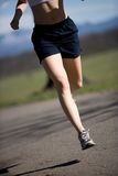 Runner legs Royalty Free Stock Photos