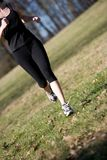 Runner legs Royalty Free Stock Photo