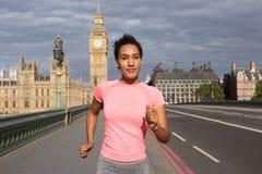 Runner in London Royalty Free Stock Photos