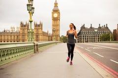 Runner in London Stock Images