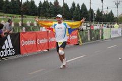 Runner at Marathon Royalty Free Stock Photo
