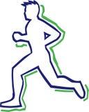 Runner Outline Stock Images
