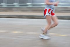 Runner Pan Blur Stock Photos