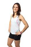 Runner portrait stock photo