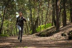Runner preparing for marathon Royalty Free Stock Images