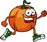 Runner pumpkin Royalty Free Stock Photo