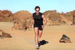 Runner running Royalty Free Stock Image