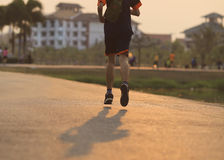 Runner running  Stock Photography