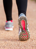 Runner shoes closeup Royalty Free Stock Images