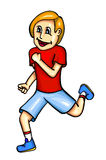 Runner with smile Stock Photos