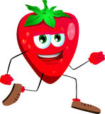 Runner strawberry Royalty Free Stock Photos