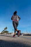 Runner on the street Royalty Free Stock Photography
