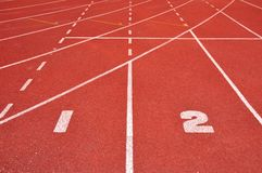 Runner track Royalty Free Stock Photography