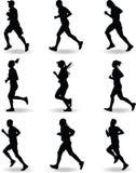 Runner vector Stock Image