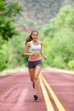 Runner woman running training living healthy life Royalty Free Stock Images