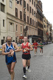 Runners. From the maraton of rome 2010 Photo taken on: March 21st, 2010 royalty free stock photo