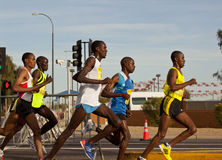 Runners in the 2010 Phoenix Marathon Stock Photo