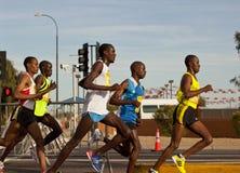 Runners in the 2010 Phoenix Marathon Stock Photo