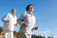 Runners Royalty Free Stock Photography
