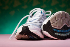 Runners. Close up shot of a pair of runners Royalty Free Stock Photography