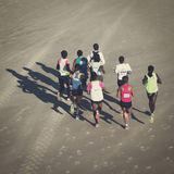 Runners Royalty Free Stock Photos