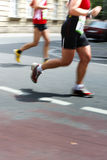 Runners. At a marathon in fureth, germany Royalty Free Stock Photography