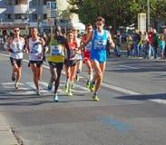 Runners at Berlin Marathon 2013 Stock Images