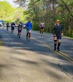 Runners in the 2021 Blue Ridge Marathon