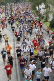 Runners of the city of Malaga urban race 2007. Runners during an urban race at the city of Malaga, Spain Royalty Free Stock Images