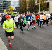 Runners at the Drumstick Dash, Roanoke, Virginia, USA Stock Photo