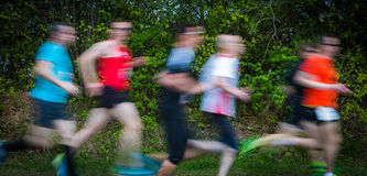 Runners in a group Stock Images