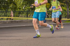 Runners at marathon Royalty Free Stock Photo