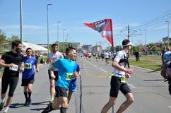 Runners During Marathon Race Royalty Free Stock Image