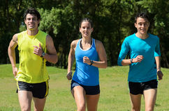 Runners Outdoors Royalty Free Stock Photo